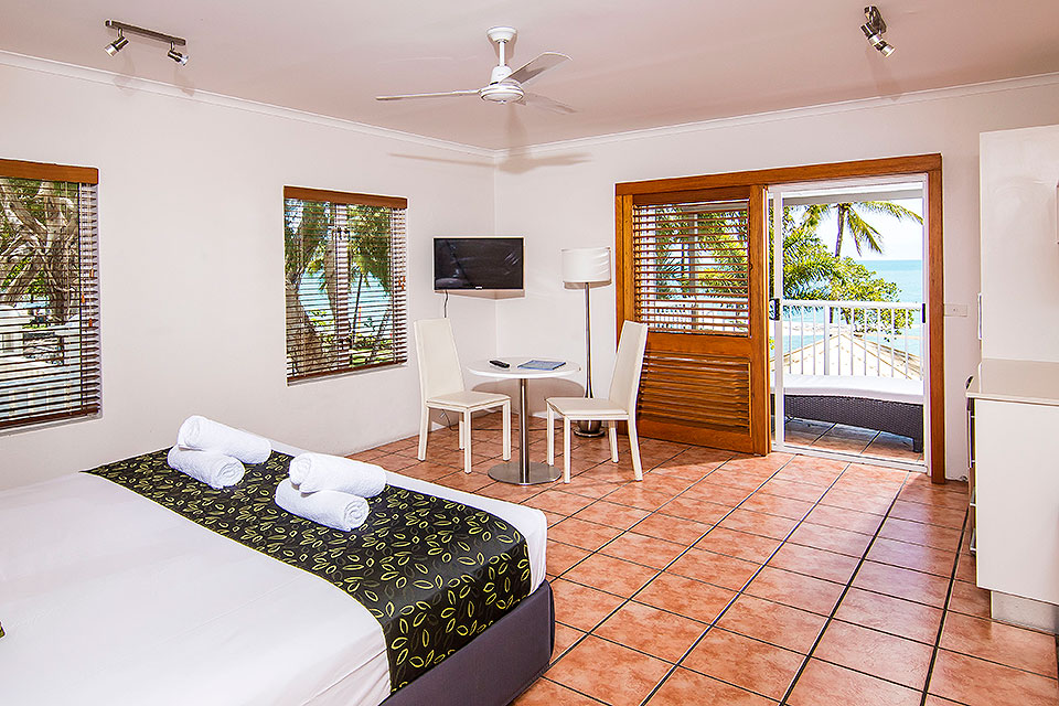 Paradise on the Beach Studio Rooms